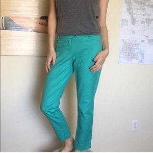 The Limited teal pants